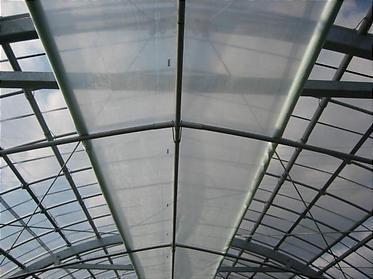 温室の二重ビニール2