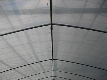 温室の二重ビニール